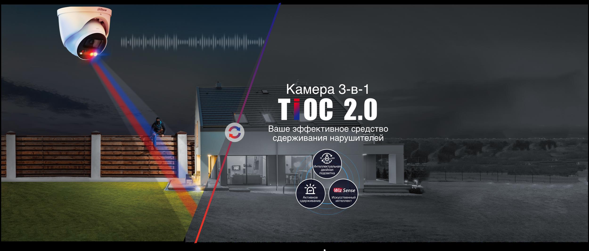 TiOC 2.0 – охранная сигнализация, адаптируемая под ваши потребности